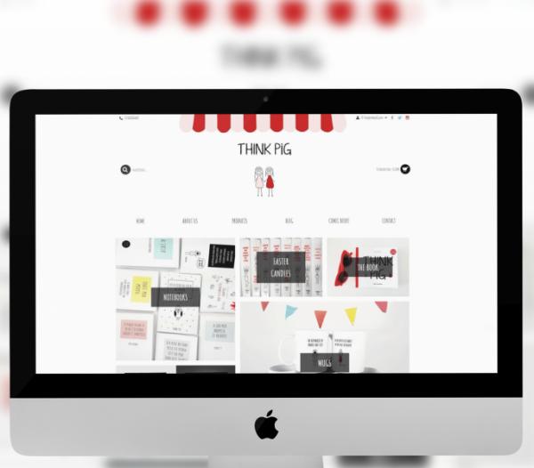 Thinkpig.gr – Redesign