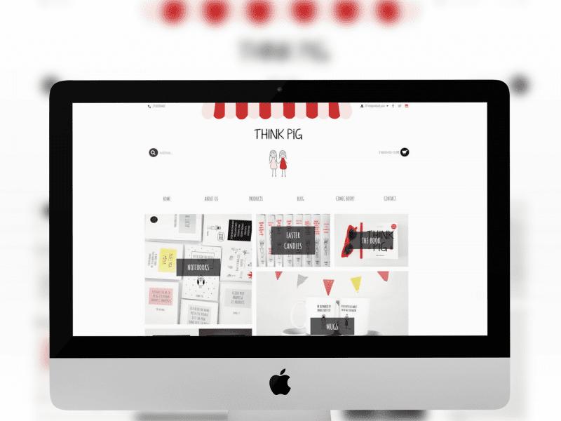 Think Pig ecommerce Design