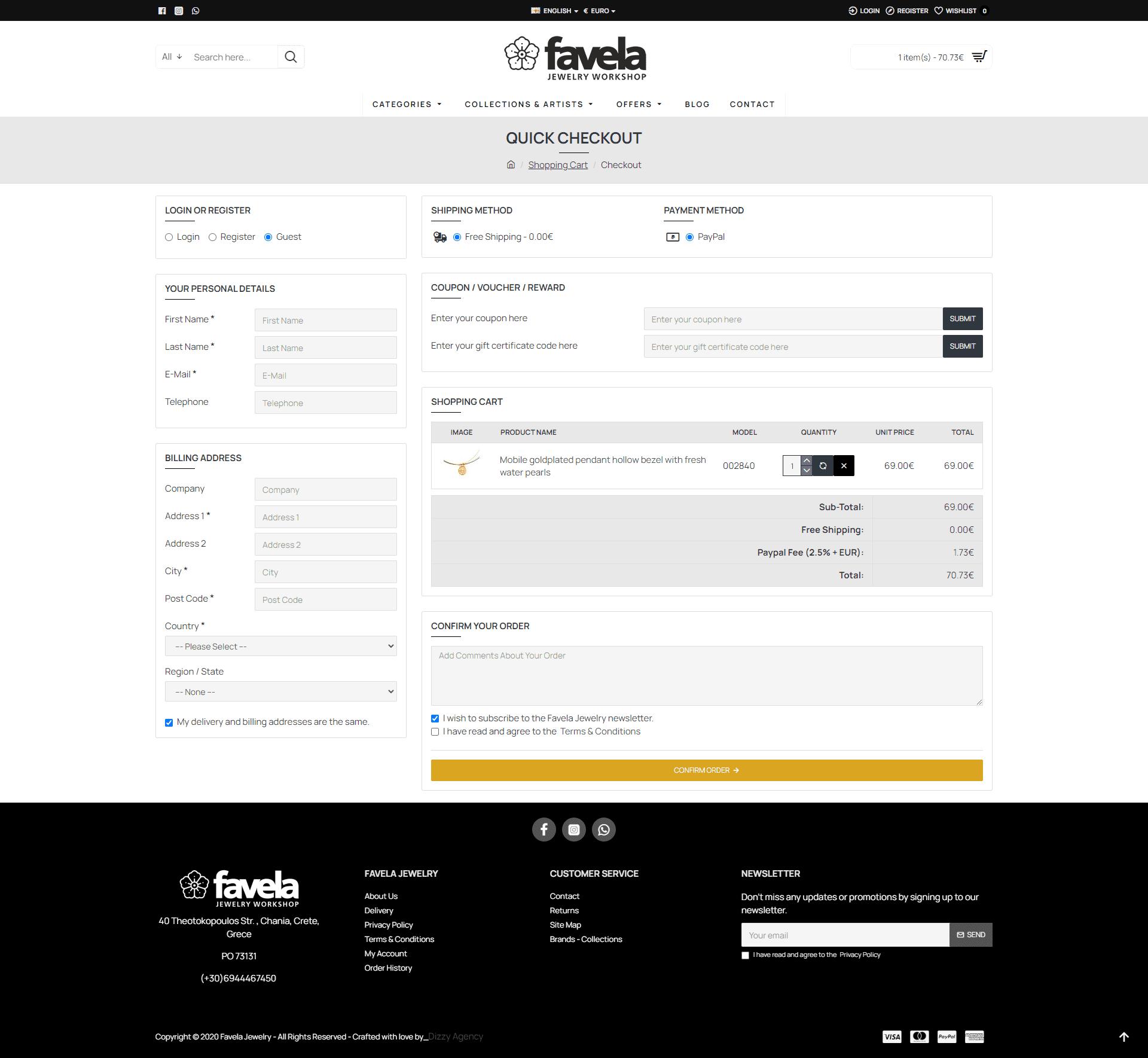 Νέο ηλεκτρονικό κατάστημα για το Favela Jewelry από το Dizzy Agency. 4